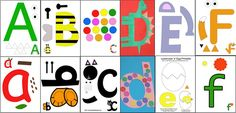 Printable Alphabet Kids Letter Activities perfect for toddlers, preschoolers and kindergarten aged kids to explore their letters.