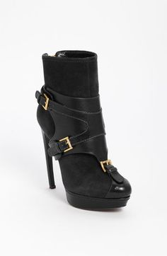 Alexander McQueen Harness Ankle Boot available at #Nordstrom