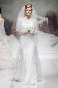 Hot off the catwalk! Wedding dress trends for 2015 revealed
