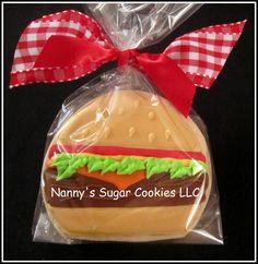 Hamburger Sugar Cookie