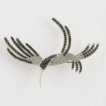 Museum Selection Hummingbird Brooch