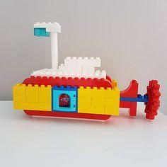 S is for Submarine #duplochallenge . . . #lego #legoduplo #duplo #bricks #brickcentral #duploart #legoart #pixelart #bricknetwork #kids…