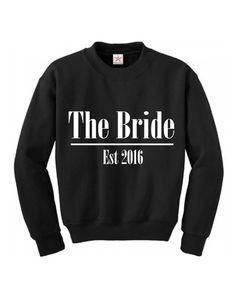 Bride Jumper Bride Hoodie Bride Sweatshirt by PerfectParcels1