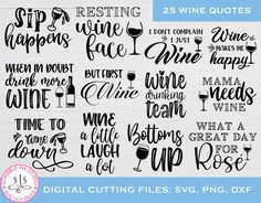 Wine SVG Bundle Wine Lover Sayings Bundle Wine quote SVG | Etsy Need Wine, Make And Sell, How To Make, Drinking Quotes, Wine Quotes, Wine Lover, Wine Glass, Inspirational Quotes, Lovers