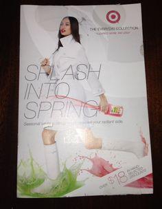 TARGET $$ New Coupon Booklet: Splash Into Spring!