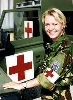 Banja Luka - A nurse in a British uniform is hardly a rare sight, however in Multinational Division South West there are some medical staff who, despite the uniform, are actually from Iceland.