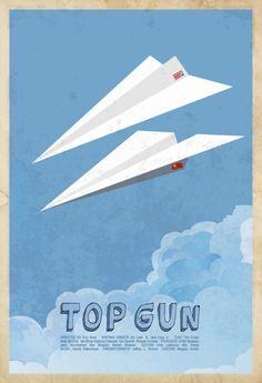 Top GunMinimal Movie Poster