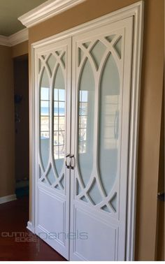 Our mullion doors hide a pantry in Ship Bottom, NJ Doors, 3d Wall Panels, Pantry Door, Closet Components, Panel Doors, Paneling, House, Interior Design, Home Decor