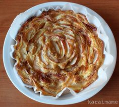 "Recipe for Finnish Apple Pie, or ""Omenapiirakka""  Recipe in English!"