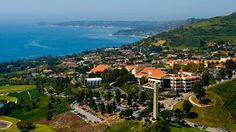 Pepperdine University in Malibu, California.