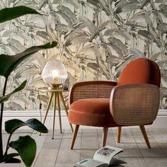 Our winter 2020 decor favorites at AM.PM and La Redoute Interiors - - Cane Furniture, Home Decor Furniture, Furniture Design, Vintage Furniture, Retro Armchair, Deco Retro, Winter Home Decor, Sofa Design, Design Design