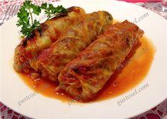 Sarmale cu hrisca si ciuperci Vegetable Recipes, Cabbage, Pork, Meat, Chicken, Vegetables, Kale Stir Fry, Cabbages, Pork Chops