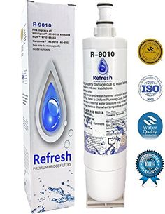 Whirlpool 4396508, 4396510 Compatible Water Filter for Refrigerator by Refresh – EDR5RXD1, 4396510, NLC240V EveryDrop Filter 5, Kitchenaid…