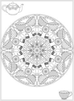 Welcome to Dover Publications From: Creative Haven Whimsical Mandalas Coloring Book