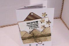 Una tarjeta bonita y original para regalar a alguien especial. ¡Vemos el procedimiento paso a paso!