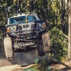 Leaving work on a Friday, bring on the weekend! Nissan Patrol Y61, Superior Engineering, Patrol Gr, Nissan 4x4, Gq Australia, 4x4 Accessories, Leaving Work, Bull Bar, Fender Flares