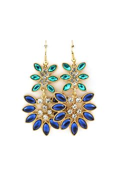Neeva Marquise Chandelier Earrings