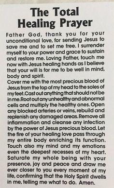 Prayers for healing Prayer Times, Prayer Scriptures, Bible Prayers, Catholic Prayers, Faith Prayer, God Prayer, Power Of Prayer, Prayer Quotes, Scripture Verses