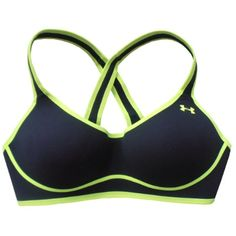 Under Armour Fitness Women's Dynamo Sport Bra Hi Impact Support 1240212 * Check out this great product. (This is an affiliate link) #Clothing