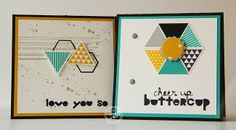 Janneke, Stampin' Up! Demonstrator : Geometrical ...