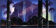 Purple Sunrise, 1996 - Eyvind Earle