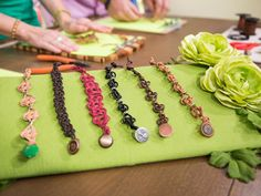Home & Family - Tips & Products - Celtic Knot Bracelets with Tamara Berg | Hallmark Channel