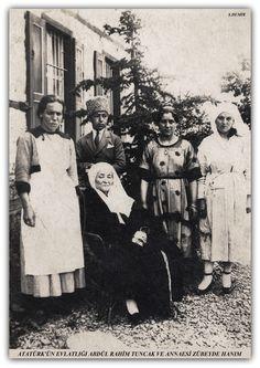 Atatürk'ün annesi ve Diyarbakırlı evlatlığı Abdülrahim TUNCAK Ankara  1922