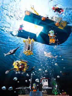 www.dennispedersen.com Still Life Product Photographer - Dennis Pedersen   #Stilllife #Product #Photographer #Commercial #Advertising #Editorial #Creative #Water #Liquid   #Splash #droplet    #Bubble #Ripple  #Underwater #Seascape #Lego #boat #shark #deep #sea