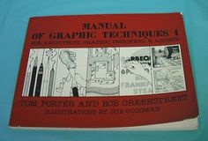 1980 Manual Graphic Techniques Architects Graphic Designers Artists Modelmaking