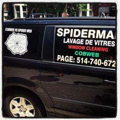 Spiderman ne connaît pas le chomage