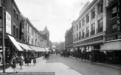 Old photo of Rampant Horse Street 1929, Norwich