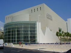 Habima Theatre in Tel Aviv, Isreal. The Habima to me looks more like a modernised brutalist architecture.