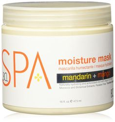 BCL SPA Moisture Masque Mandarin Mango, Small ** Additional details at the pin image, click it : Body Care Dry Skincare, Pin Image, Image Link, Body Care, Mango, Moisturizer, Spa, Skin Care, Humectant