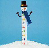Snowman ruler