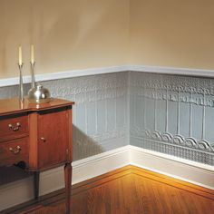 9 Nice Cool Ideas: Livingroom Remodel Grey Walls living room remodel with fireplace basements.Livingroom Remodel Ideas living room remodel with fireplace dark wood.Living Room Remodel On A Budget How To Make. Wainscoting Kitchen, Painted Wainscoting, Dining Room Wainscoting, Black Wainscoting, Wainscoting Ideas, Paneling Ideas, Wainscoting Nursery, Wood Paneling, Paintable Wallpaper