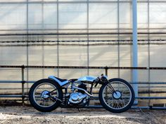 Yamaha SR125 Material Woman ~ Return of the Cafe Racers