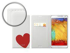 Capa Samsung Galaxy Note 3 Flip Case by Moschino Original Branca Dorada  45,99 €
