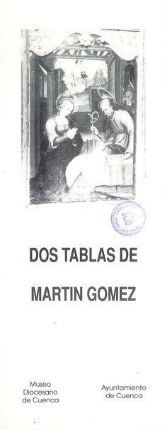 """""""Dos tablas de Martín Gómez"""" Exposición en la Caja de Ahorros de Cuenca y Ciudad Real Mayo 1990 #CajaCastillaMancha #Cuenca"""