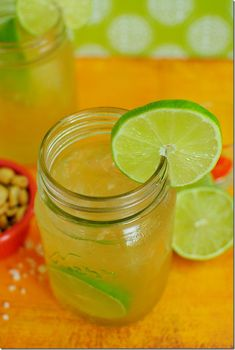 Dad's Killer Beergaritas are a thirst-quenching mix of beer and margaritas. My Dad's famous recipe!    iowagirleats.com