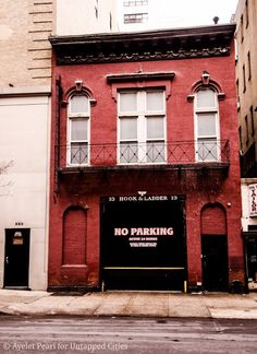 In 1960, Hook and Ladder Company 13 moved to a new location on East 85th Street.  In 1962, Andy Warhol rented the entire firehouse on E. 87th Street for $150 and used the second floor as his first real studio. In this firehouse, he worked on the famous portraits of Elizabeth Taylor and Elvis Presley. Hook and Ladder-Upper East Side-Andy Warhol Fire Station-NYC-2