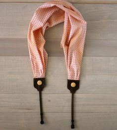 Graphic Scarf Camera Strap  by Bluebird Chic on Scoutmob Shoppe