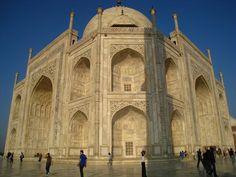Taj_Mahal_in_Agra_-_India_arches.  -   by shirin-gol