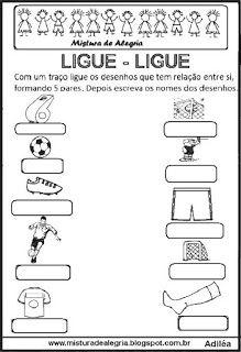 Autoditado Da Copa Mundial Ligar Com Imagens Atividades De