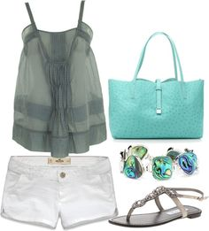 """Summer every day"" by joanne-michie ❤ liked on Polyvore"