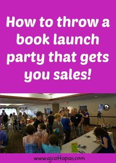 Discover my secrets to throwing the best book launch party ever! Find out where to hold your party, how to get people to attend, and how to encourage them to buy your book. Plus find out how to get my FREE ebook on turning your book into an award-winning bestseller!