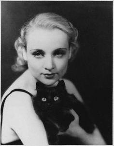 Carole Lombard and friend