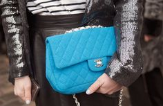 Paris Fashion Week AW2012/13 Street Style: it's in the bag _ Chanel flap