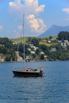 Lake Lucerne, Switzerland by Amy Coady