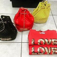 FALL WINTER16 COLLECTION #new #collection #shopart #shopartmania #fallwinter16 #adorage #style #cool #bag #sweatshirt #love #colour #shopartstyle