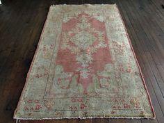 """Vintage Turkish Rug 3'5""""x5'8"""" — Huntt Vintage Rugs & Kilims"""